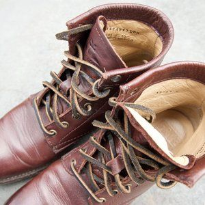 Frye Tyler Leather Boots w/Leather Laces - Rare